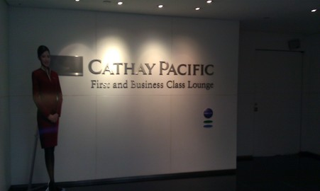 Cathay Pacific First and Business Class Lounge, Taipei