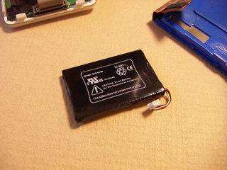 iPod 3G 20G リチウムイオン電池