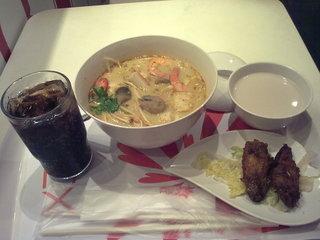 美心MX の Sea food rice noodle