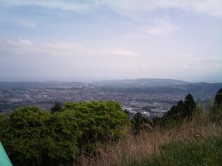 ヤビツ峠からの景色