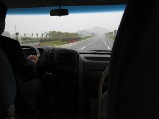 桂林空港へのバス