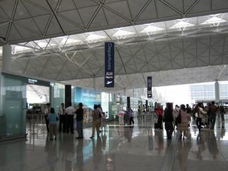香港国際機場 離港