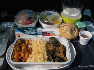 Strictly Hindiの機内食