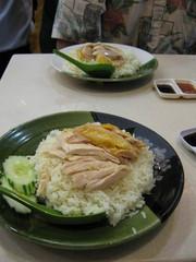 タイ式海南チキンライス
