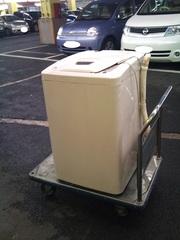 旧洗濯機 NEC 製