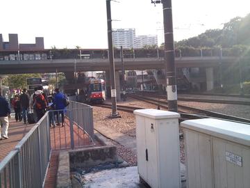 軽便鉄道の駅