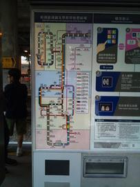 軽便鉄道の路線図