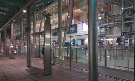 香港駅・中環駅の In town check-in
