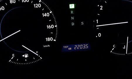 今月の走行距離: 2,203.5km