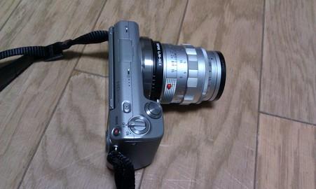 ズミルックス50mmF1.4 を装着