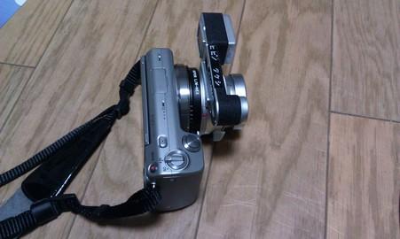 ズミクロンM28mmF2アスフェリカル を装着