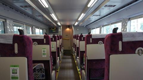 湘南新宿ライン グリーン車 下フロア