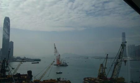 香港会議展覧中心からの風景