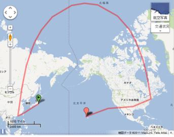 NRT-TPE-HKG-JFK-DFW-HNL