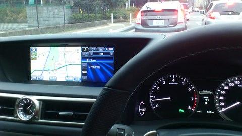 Lexus GS の内装