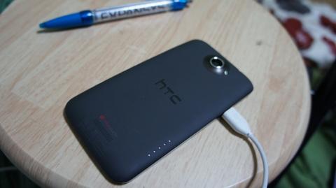 HTC One X ウラ面