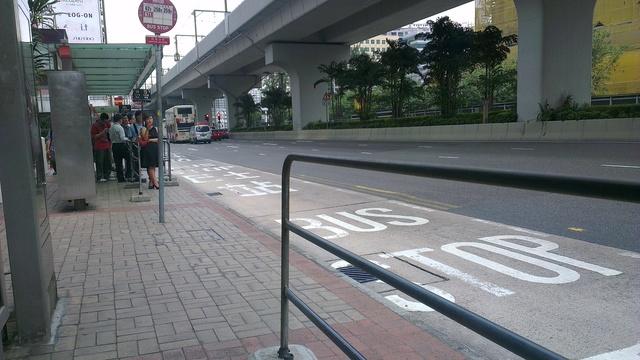 観塘法院バス停