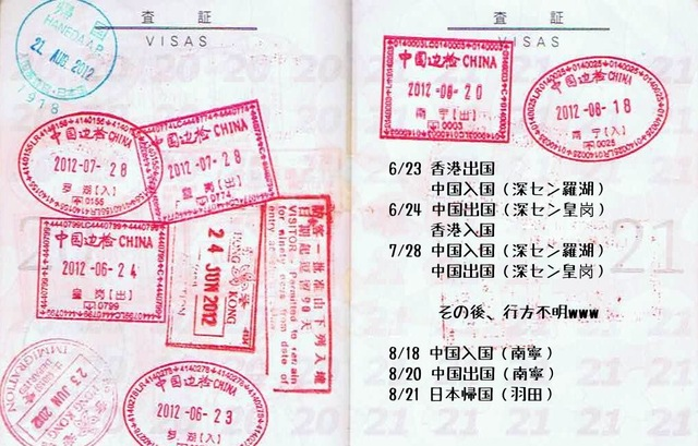 Passport stamps 201208