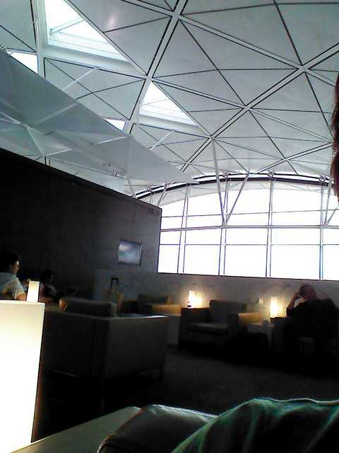 Cathay Pacific Lounge - The Wing