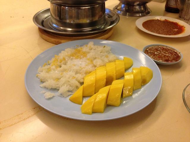 マンゴー+餅米