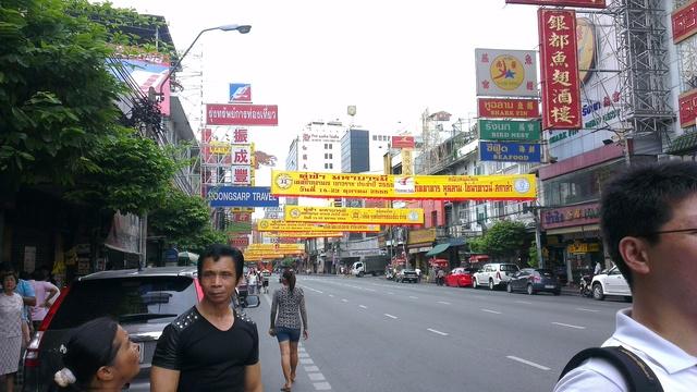 Yaowarat 通りの中華街