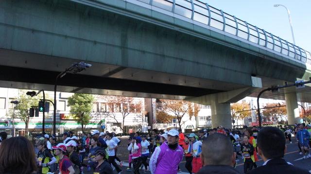 大阪マラソンやってた