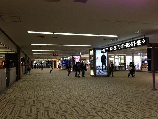 第2ターミナル出国済みゾーン
