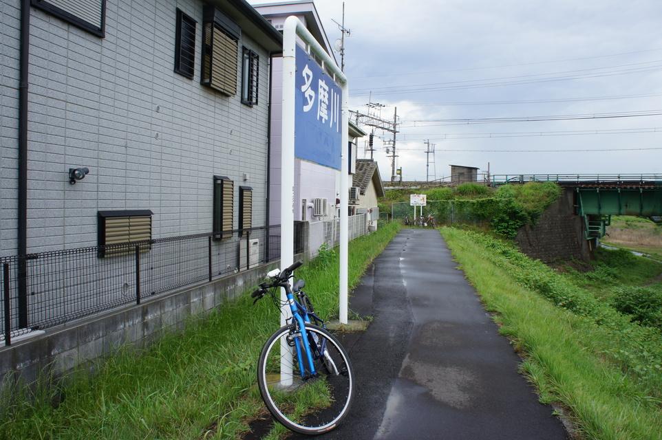JR中央線の多摩川鉄橋
