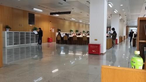深圳図書館 館内