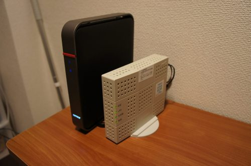 ONUと無線LAN