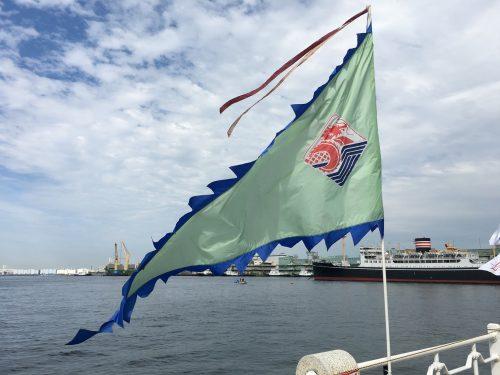 横浜ドラゴンボートレース 旗