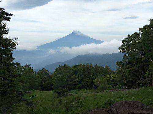 山頂からの富士山 0635