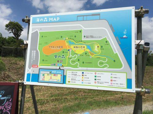 海の森公園 地図