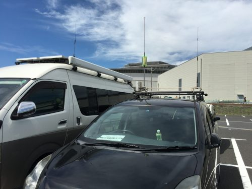 2日目の駐車場 2