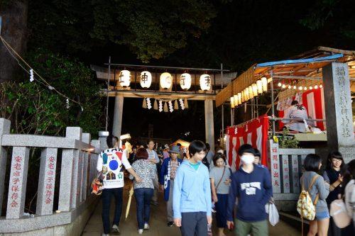 稲荷森稲荷神社の正門