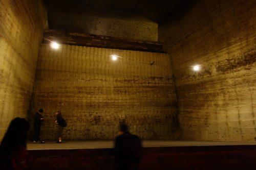大谷石資料館の内部