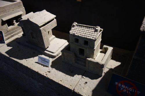 大谷石資料館の作品展示